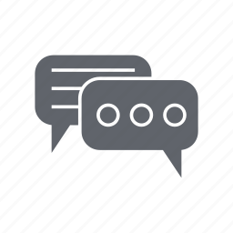 communication, conversation, discussion, email, message, talk icon