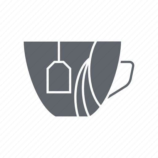 coffee, cup, drink, kitchen, shop, tea, tea cup icon