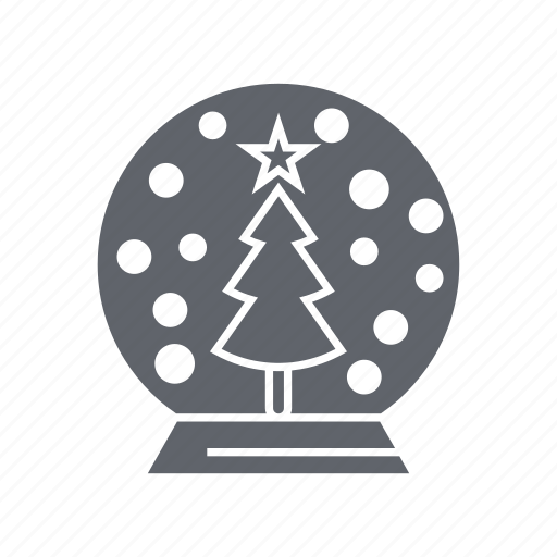 bauble, decoration, flower, ornament, snow, winter, xmas icon