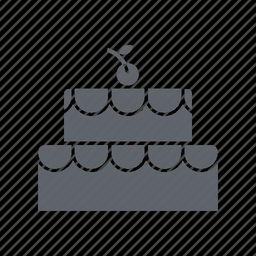 bakery, birthday cake, cake, chocolate, dessert, sweets icon
