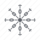 cold, snow, snowflake, weather, winter, xmas icon