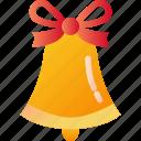 bell, christmas, decoration, holiday, xmas