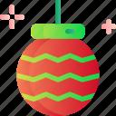ball, christmas, decoration, holiday, xmas