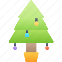 christmas, december, holidays, tradition, tree icon