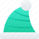christmas, clothing, december, elf, hat, holidays icon