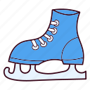 christmas, figure, skate, skating, sport, winter icon