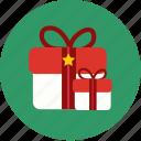 box, boxset, chrismas, gift, santacros, x'mas icon