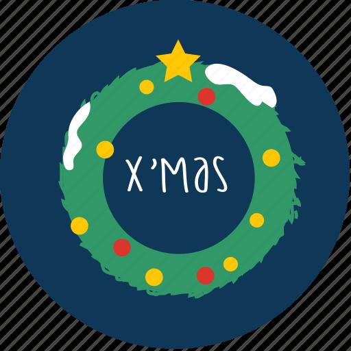 chrismas, easter, gift, snow, tree, x'mas, x'masgift icon
