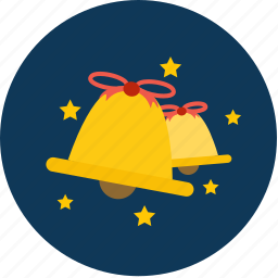 bell, chrismas, music, sound, star, winter, x'mas icon