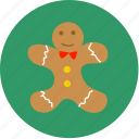 bekery, cookie, easter, person, sweet, x'mas, xmas icon