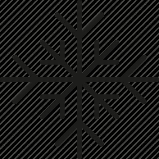 christmas, cold, flake, ice, snow, snowflake, winter icon