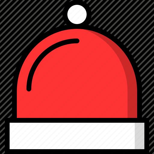 cap, christmas, cold, hat, head, winter icon