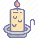 candle, christmas, december, holidays, light icon