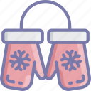 christmas, clothing, december, holidays, mittens