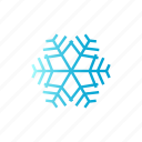 blue, christmas, gradient, snow, winter