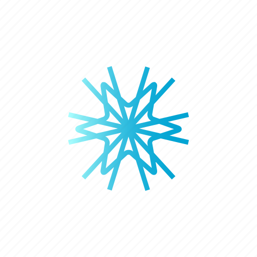 Blue, christmas, gradient, snow, winter icon - Download on Iconfinder