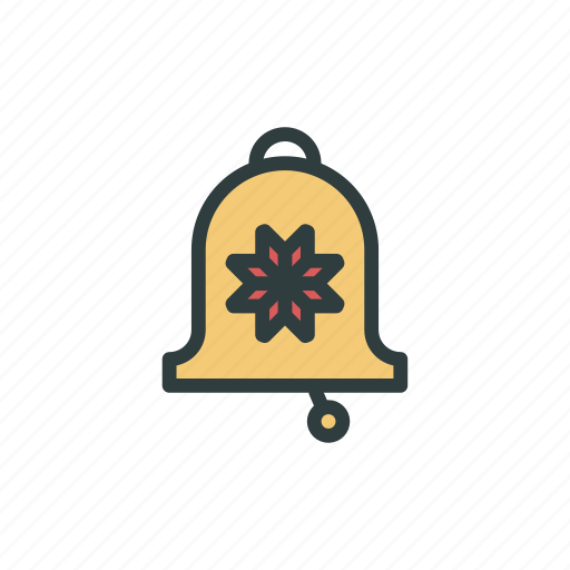 bell, christmas, jingle bell, new year icon
