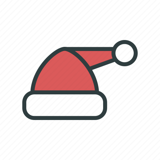 cap, christmas, hat, new year, santa claus hat icon