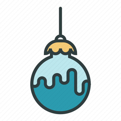 ball, christmas, christmas toy, decoration, new year, tree toy icon