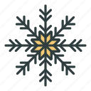 christmas, flake, new year, snow, snowflake icon