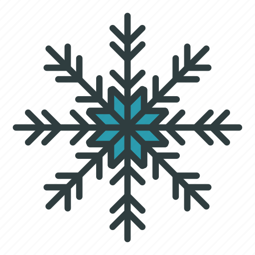 christmas, flake, new year, snow, snowflake icon