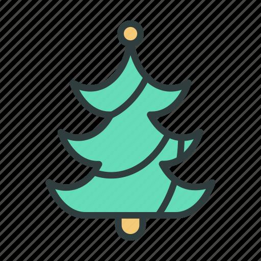 christmas, christmas tree, new year, tree icon