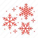 christmas, flakes, snow, snowflakes icon