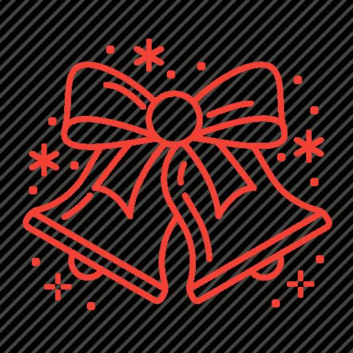 bell, bells, christmas, jingle icon