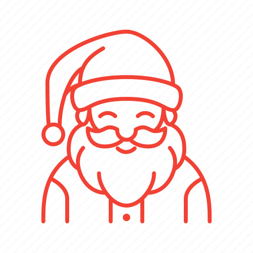 Christmas, claus, santa icon - Download on Iconfinder