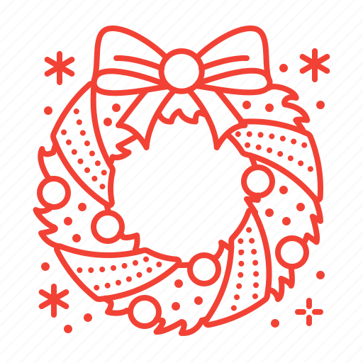 Christmas, decoration, wreath icon - Download on Iconfinder