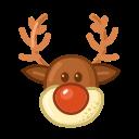 rudolph, winter, christmas, xmas, holiday, travel, snow icon