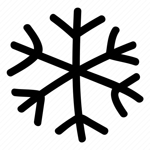 christmas, decoration, new, show, snowflake, year icon