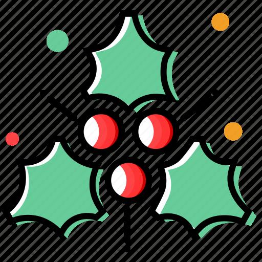 cherry, christmas decoration, fruits, holiday, winter, xmas icon