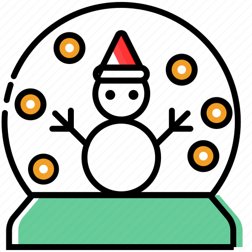 christmas decoration, christmas ornaments, holiday, snow, snowman, winter icon
