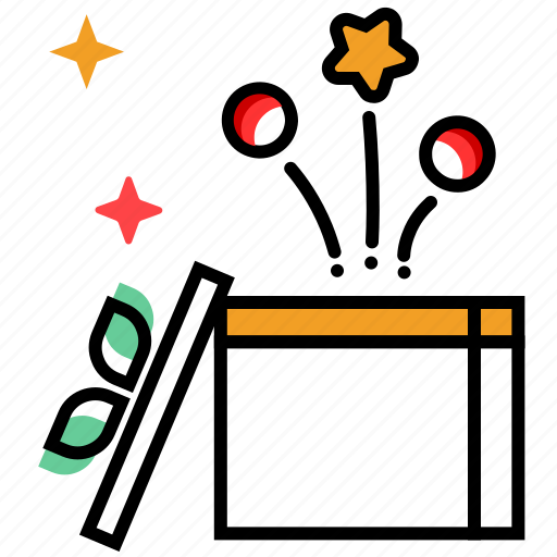 celebration, christmas decoration, festival, gift box, new year, offer icon