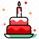 birthday cake, cake, christmas cake, christmas decoration, party, paty icon