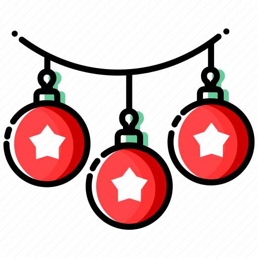 Christmas Icon.Christmas Ornaments Color1 By Sbts2018