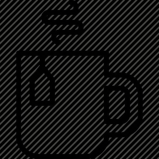 christmas, coffee, cup, hot, mug, tea, winter icon