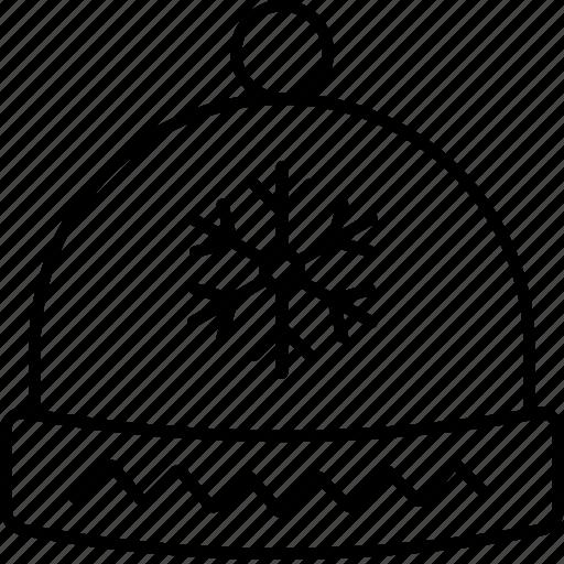 christmas, hat, holidays, snow, snowflake, winter, xmas icon
