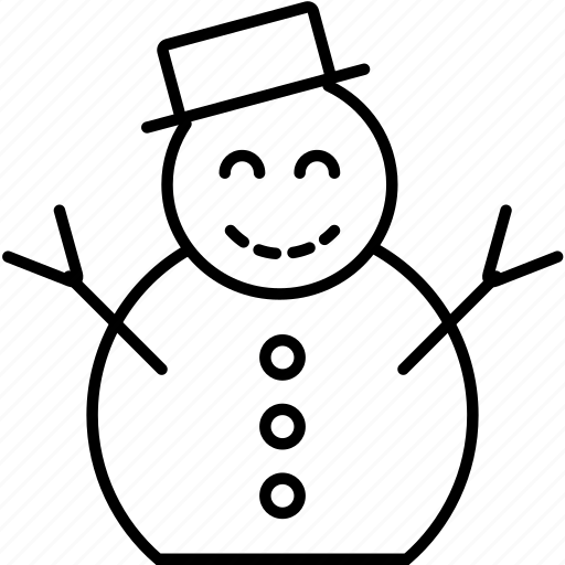christmas, holidays, snow, snowman, winter, xmas icon