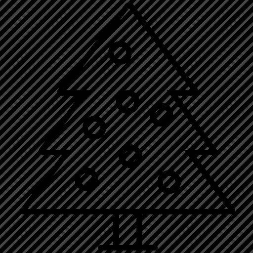 balls, christmas, decoration, holidays, tree, winter, xmas icon