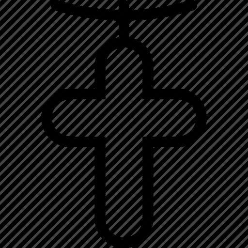 christ, cross, holy, jewel, jewelry, pendant icon