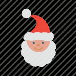 celebration, christmas, greeting, santa, season, snow icon