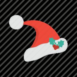 celebration, christmas, decoration, hat, santa, snow, weather, win, winner, winter icon