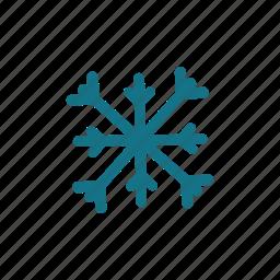 christmas, flake, freeze, ice, snow, snowflake icon