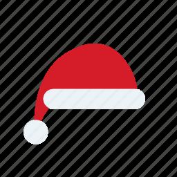 christmas, hat, santa icon