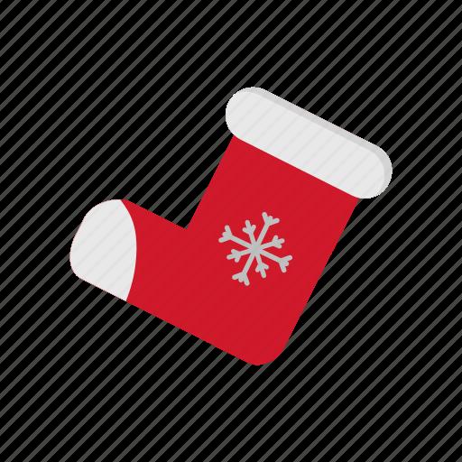 christmas, socks, winter, xmas icon