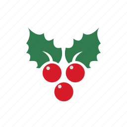 berries, berry, christmas, holly, new, xmas, year icon icon