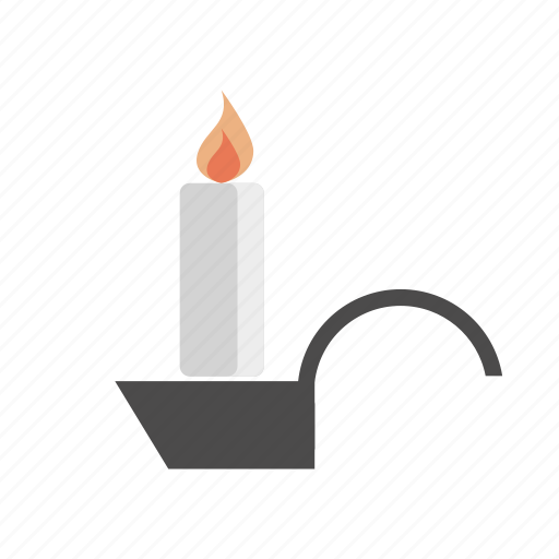 candle, candlestick, chamberstick, christmas icon