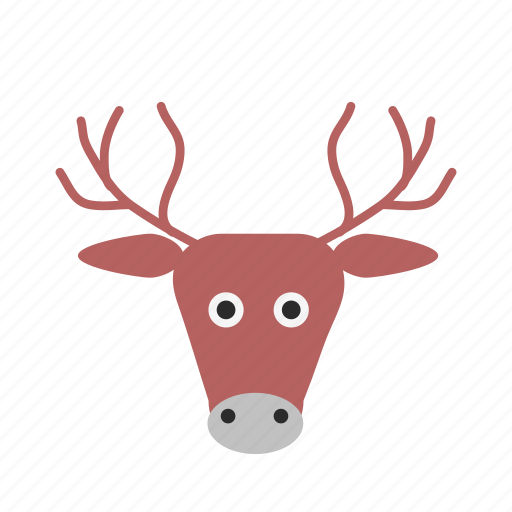 christmas, claus, deer, new year, rein, santa icon